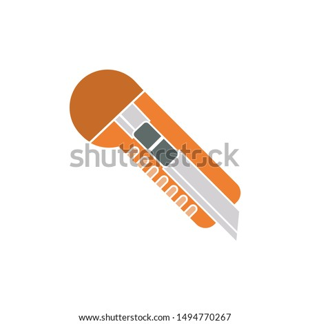 cutter icon. flat illustration of cutter - vector icon. cutter sign symbol