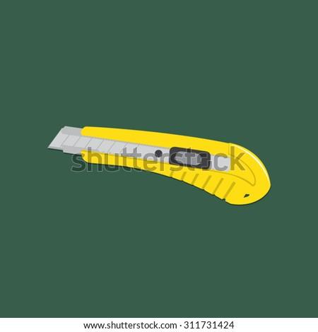 cutter knife  knife vector