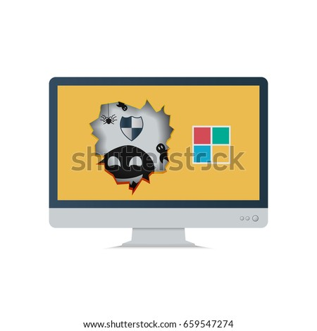 cyber attack malware virus