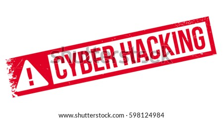 cyber hacking rubber stamp