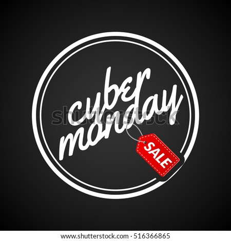 Cyber monday SALE background. Online sale offer. Internet cyber monday discount for shop.
