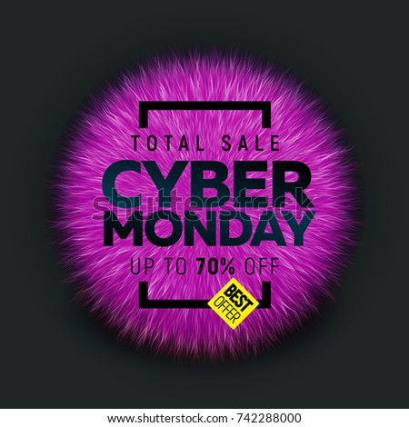 Cyber Monday sale banner