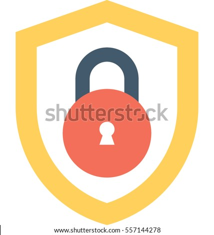 Cyber Security Vector Icon
