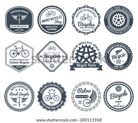 cycling club retro decorative...