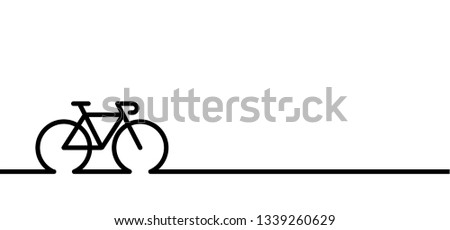 Cycling line pattern banner. World Bicycle day race tour. Sport icon. Cyclist logo sign. Cycling symbol Funny vector bike. Sports finish symbol. Cartoon sportswear. Mountain touring route Nearly there