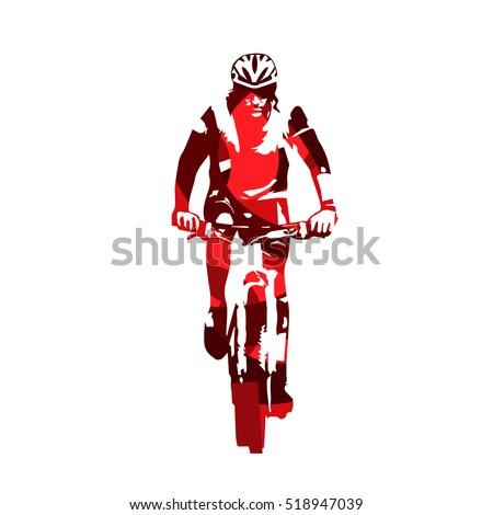 cycling  mountain biker