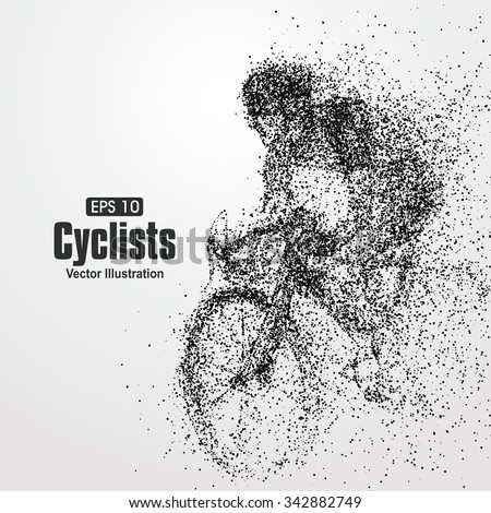 cyclists  particle divergent