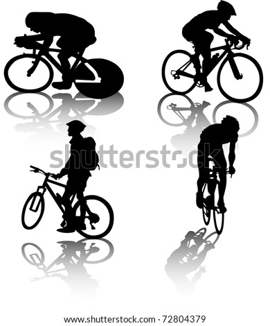 cyclists' vector