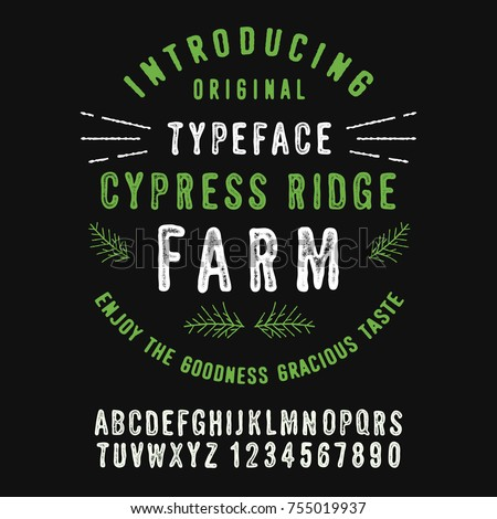 cypress ridge farm. hand made...