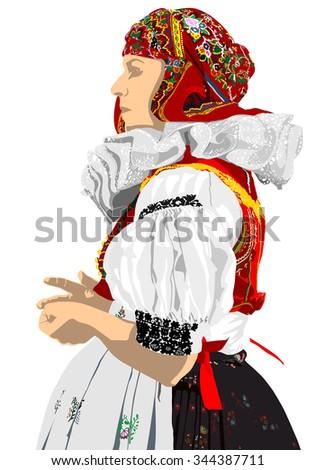 czech folklore costume