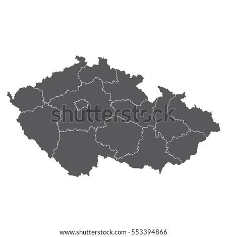 Czech Republic - map