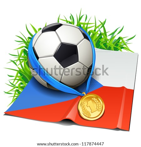 Czech Republic soccer icon