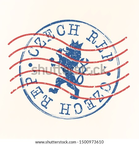 czech republic stamp postal