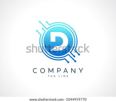 Technology Circuit Logo Download Free Vector Art Stock Graphics