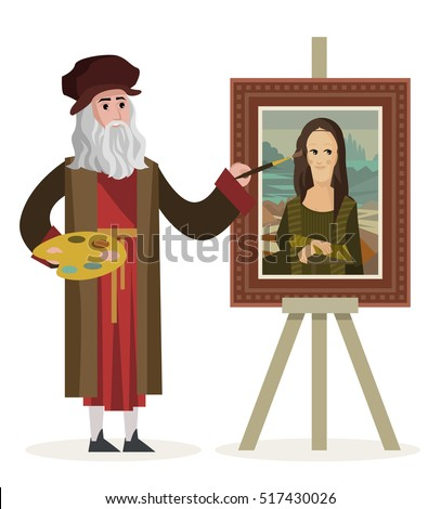 da vinci painting the mona lisa