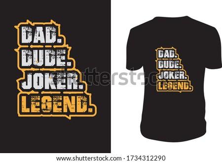 dad dude joker legend best dad