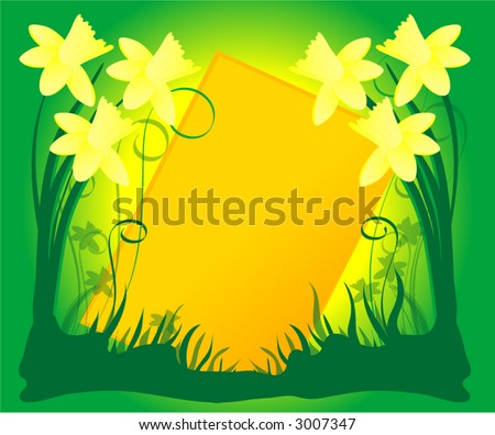 03 march daffodils coloring pictures printable Pictures of trees printable