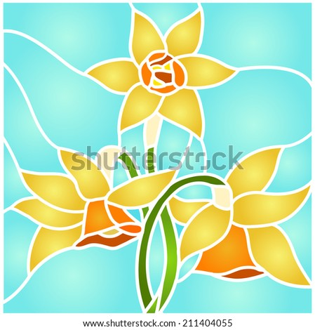 daffodils  spring flower love