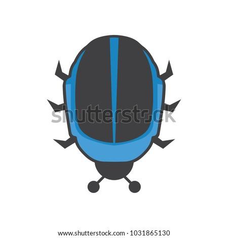 daft punk bug helmet creative