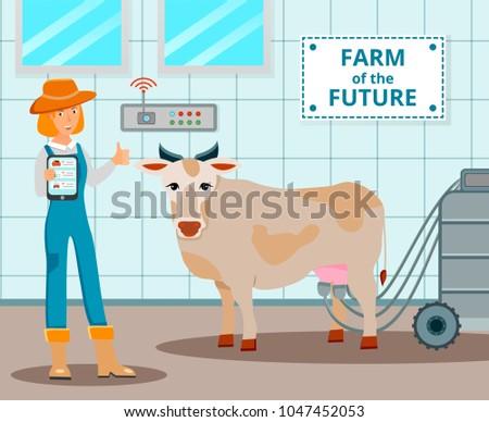 dairy farm of future design