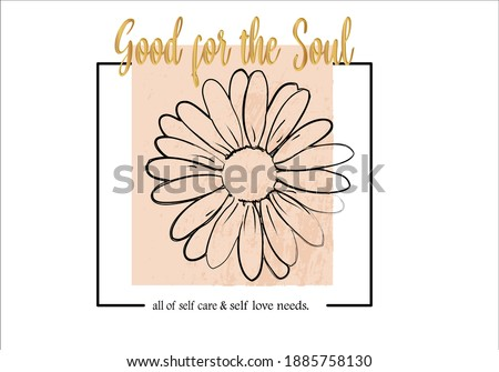 Daisy flower design with frame and slogan daisy pattern daisy seamless pattern vector design hand drawn spring daisy flower fabric towel design pattern summer print ditsy flower,spring,stationary