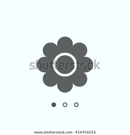 daisy Icon, vector, icon flat
