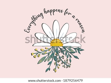 daisy lettering butterfly  for fashion graphics, t shirt prints, posters etc stationery,mug,t shirt,phone case  fashion style trend spring summer print optimist positive inspiration motivation
