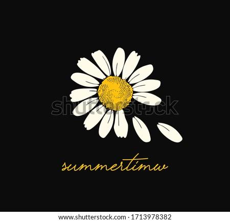daisy slogan girl love summer