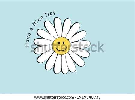 daisy smile face emoji design daisy pattern daisy seamless pattern vector design hand drawn spring daisy flower fabric towel design pattern summer print ditsy flower,spring,stationary,fabric,paper