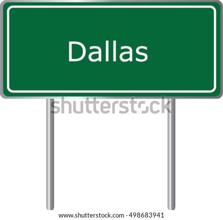 dallas   georgia   road sign