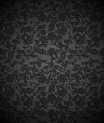 Damask seamless floral background pattern. Vector illustration.