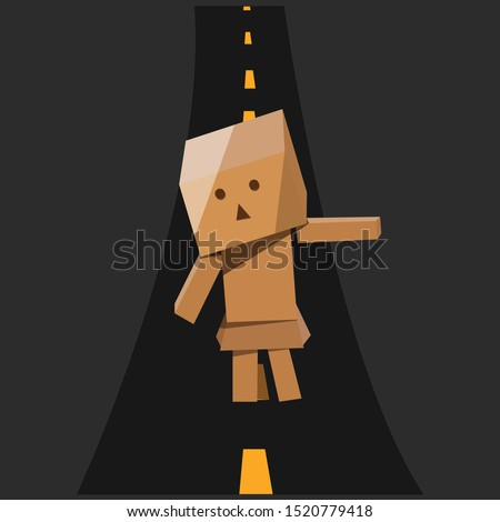 danboard design vector with a