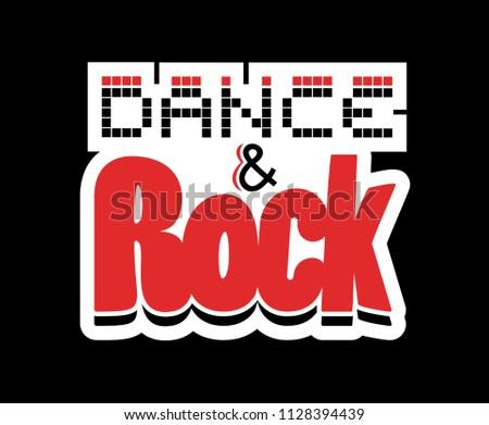 Dance and Rock symbol