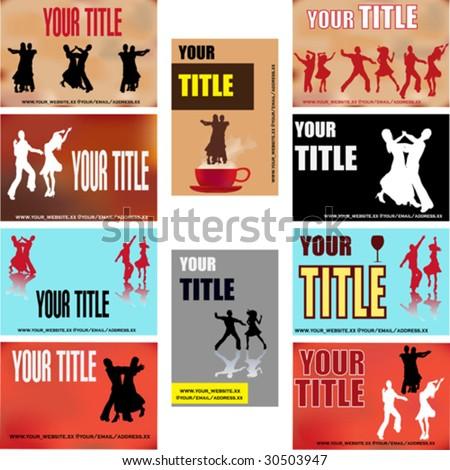 Dance Business Card Templates