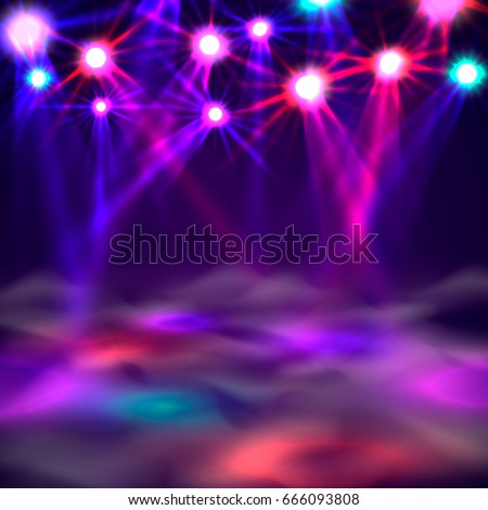 dance floor banner  light and