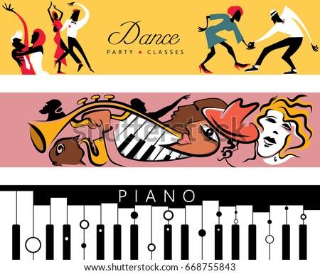 dance   jazz   piano concert