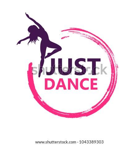 stock-vector-dance-logo-vector-design-symbol