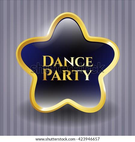 Dance Party golden badge