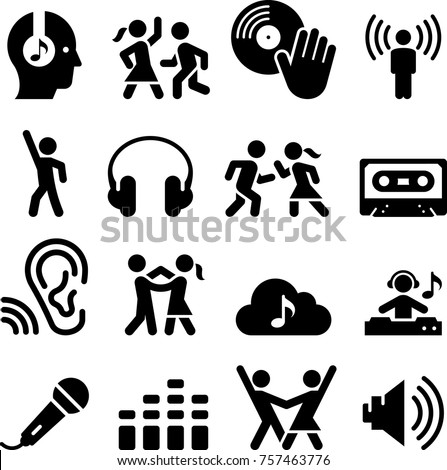 Dance Party Icons