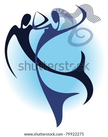 dance under water stylized