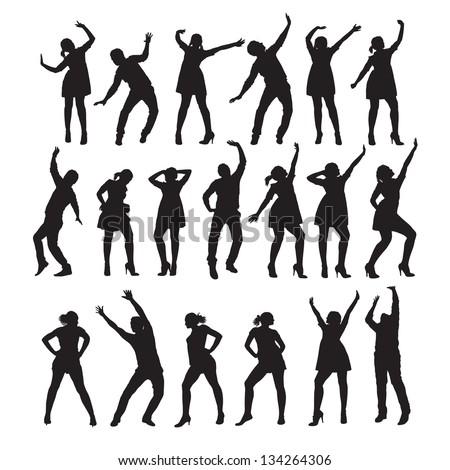dancer vector illustration