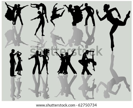 Dancing couples