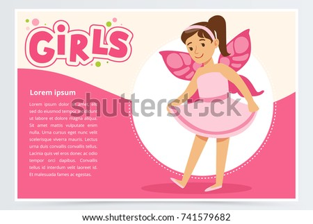 dancing little girl with