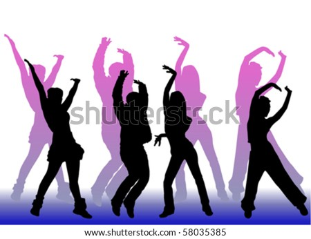 dancing peoples