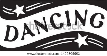 Dancing 4 - Retro Ad Art Banner