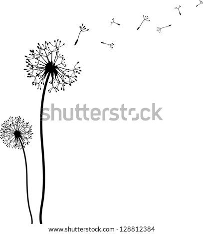Music dandelion wall art decal wall decal wall art decal - Dandelion Time Stock Vector Illustration 128812384