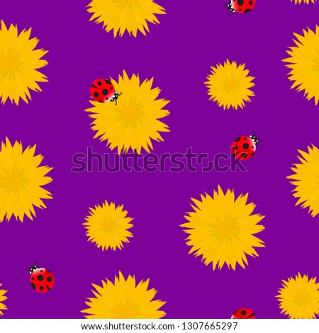 dandelion yellow flowers with