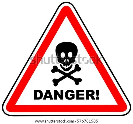 Danger Stickers Download Free Vector Art Stock Graphics Images