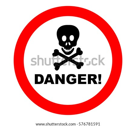 Danger Stickers Download Free Vector Art Stock Graphics Images