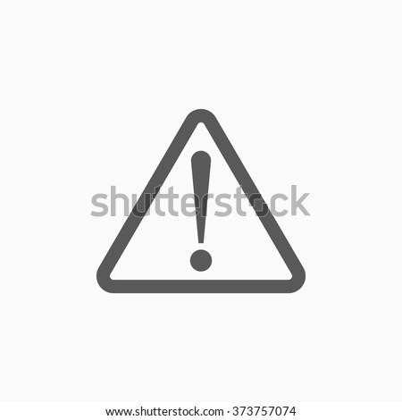 danger warning icon
